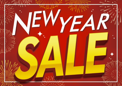 NEW YEAR SALE 開催中 !!!!!!!