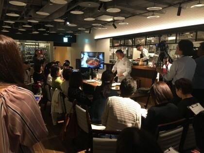 10月1日(木) 落合シェフお料理教室開催!
