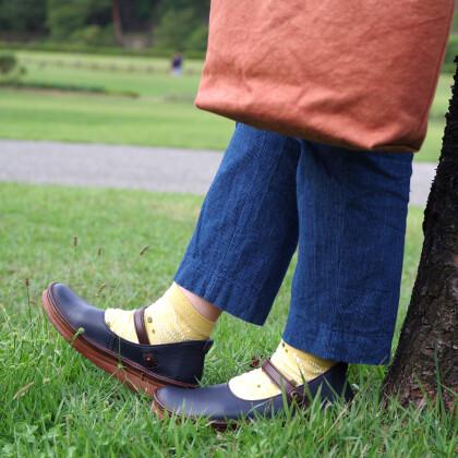 神戸生まれの究極にやさしい靴。クツとクツシタ・タ・タンゴは4日(日)まで!
