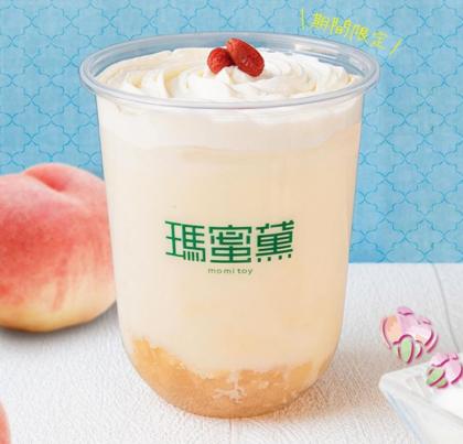白桃杏仁ミルク