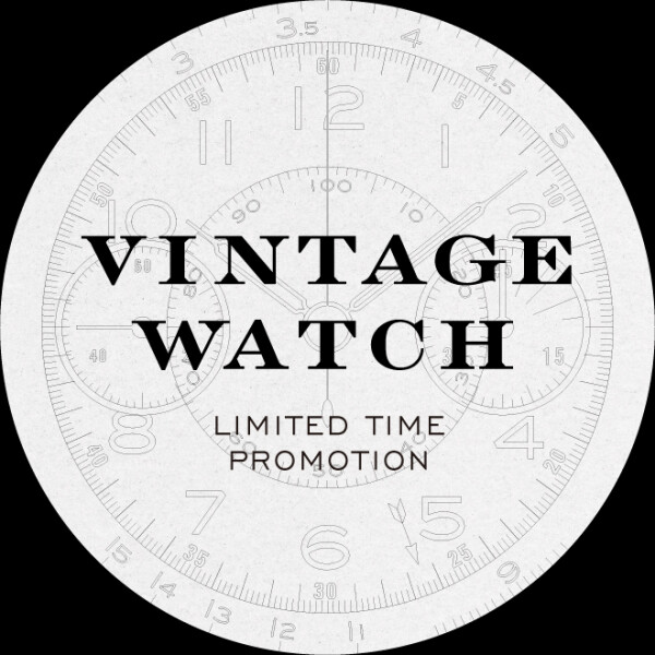 VINTAGE WATCH期間限定販売会 開催のお知らせ