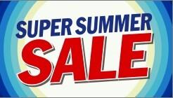 《 SUPER SUMMER SALE 》6/24~8/2開催!!!!!!!!!