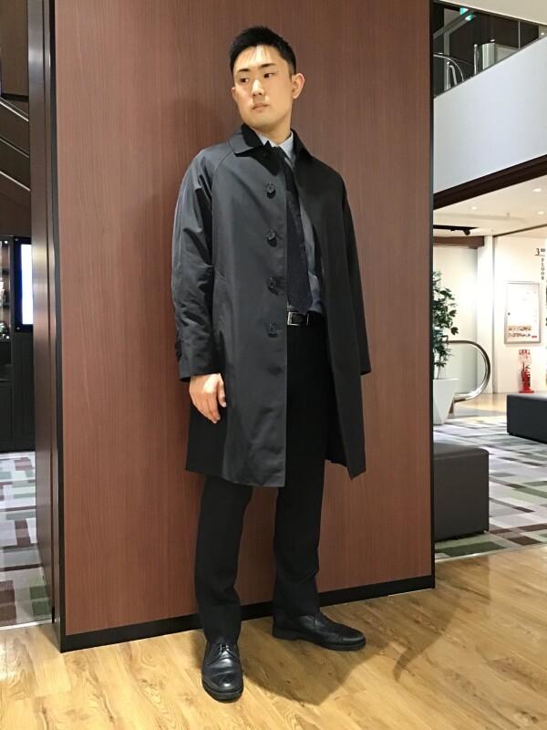 【2020秋冬新作】スーツに合うステンカラーコート!