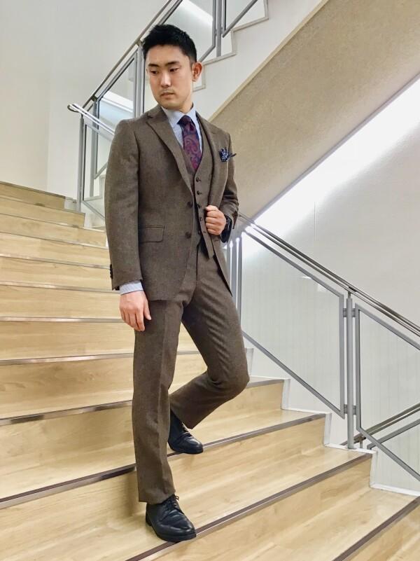 【FINAL SALE開催中!】MOONラムズウールセットアップスーツ