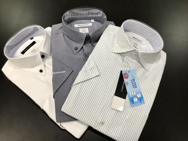 【夏のビジネスマンの味方☆】高機能半袖シャツ