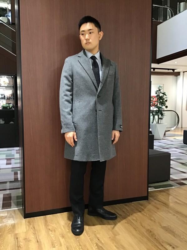お洒落な抜け感☆定番チェスターコート!