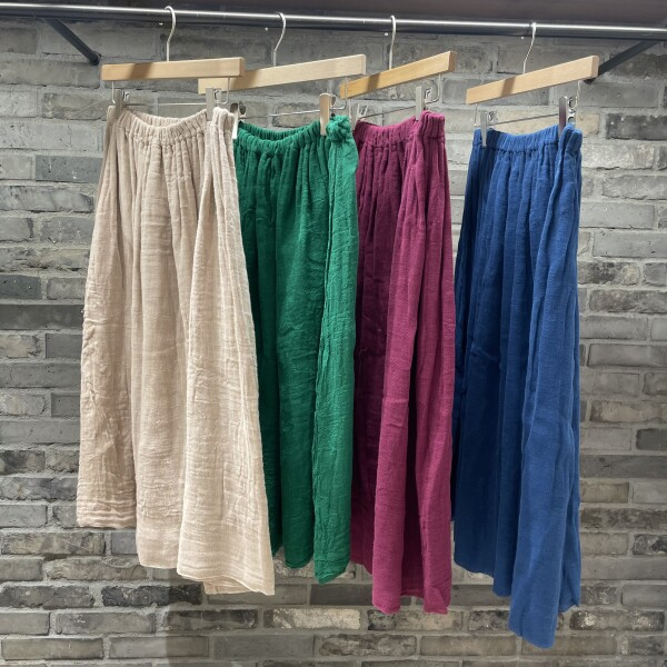 夏のおしゃれ計画part2~軽くて涼しい蚊帳の服~